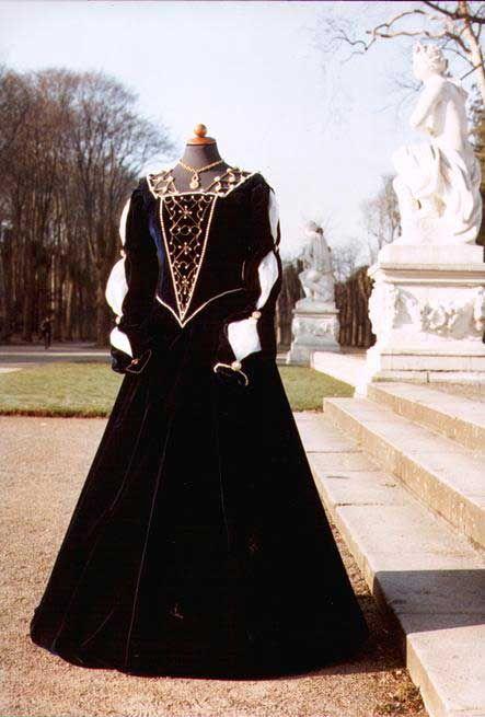 La Pompadour Kleider der Renaissance
