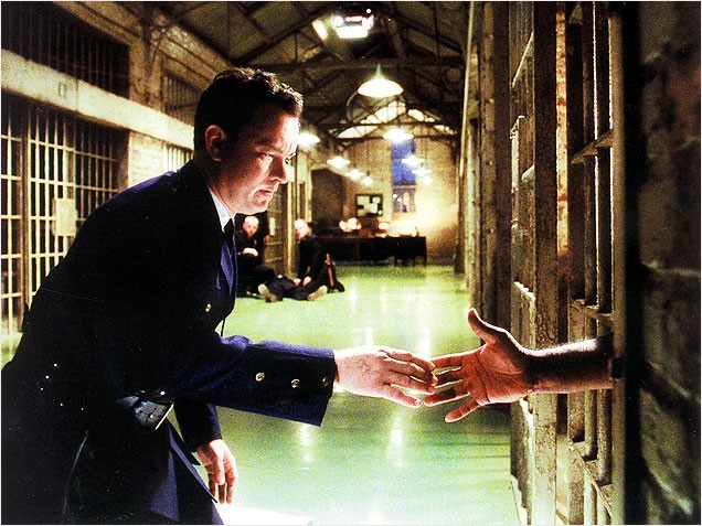 The Green Mile (1999) Paul Edgecomd: Toms Hanks, Michael Clarks, Miles 1999, The Green Miles, Favorite Movies, Bachelor Film, Awesome Pin, Paul Edgecomb, Clarks Duncan