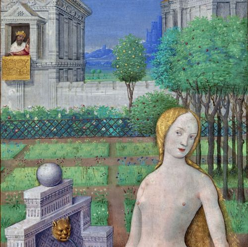 David and Bathsheba Hours of Louis XII, Tours 1498-1499 Los Angeles, The J. Paul Getty Museum, Ms. 79, recto