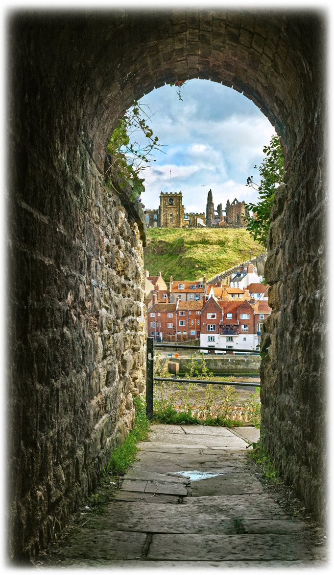 Through the Keyhole - Whitby by ~YorkshireSam on deviantART