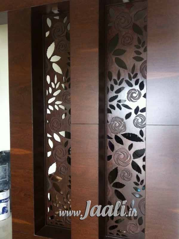 097 12mm MDF Jaali Engraved Cut For Partition