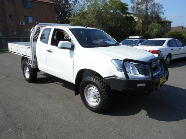 2015 Isuzu D Max Tf My15 Sx 4x4 White 5 Speed Automatic Spacecab