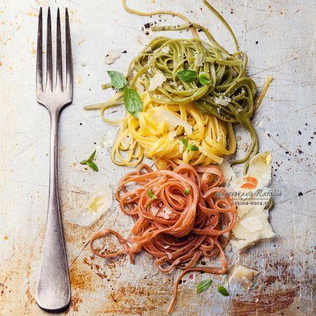 итальянская паста с пармезаном и базиликом by Natalia Lisovskaya