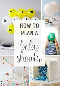 how to plan a baby shower planning a baby shower can be a bit