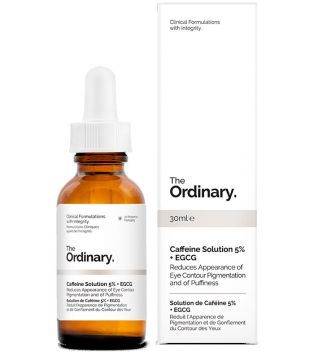 *ojeras*   The Ordinary - Caffeine Solution 5% + EGCG