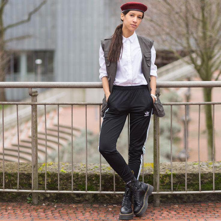 LET'S MAKE UGLINESS GREAT AGAIN ! 👹✊🏽🇺🇸 #adidas #punk #streetwear #streetstyle #parisienne #laurabhrd