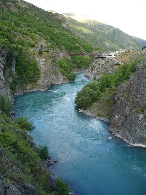 Los Argonah, en el río Kawarau