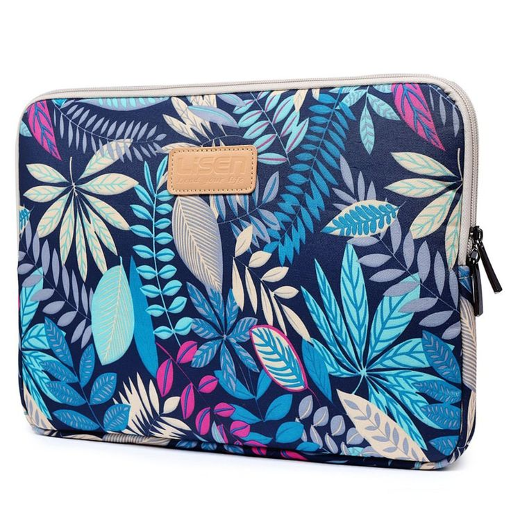 CoolBell 13.3 Inch Laptop Sleeve Case With Colorful Leaves Pattern Ultrabook…