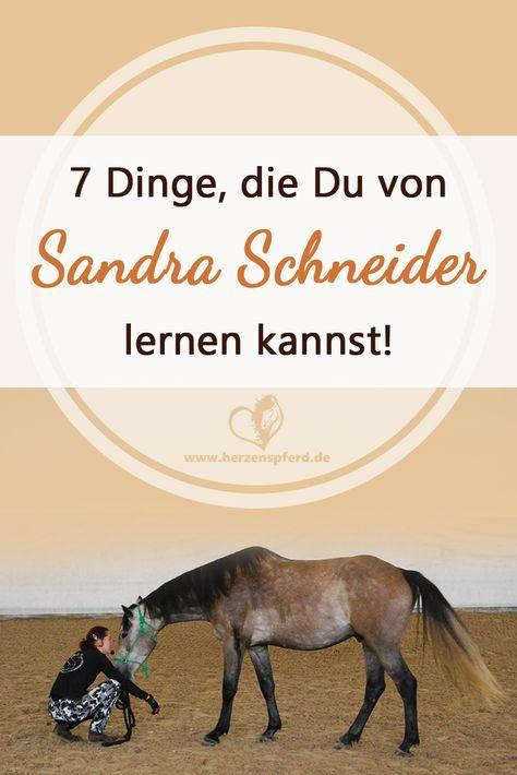 7 Dinge, die Du von Pferdeprofi Sandra Schneider lernen kannst!