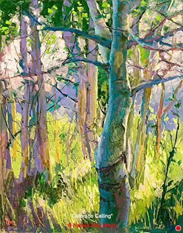Colorado Calling by Nancie King Mertz Pastel ~ 22 x 28