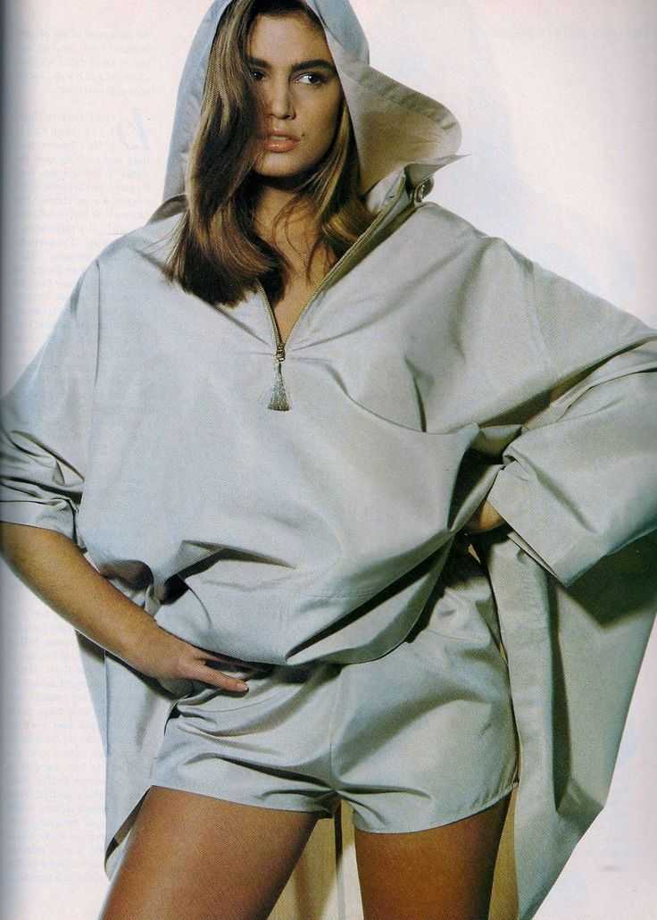 Cindy Crawford By Photographer Irving Penn For Vogue US, 1989