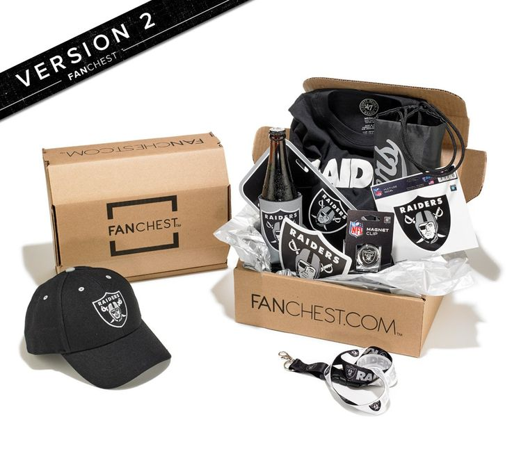 Oakland Raiders Gift Box | Raiders Gear | Great Gift for Raiders Fans • FANCHEST