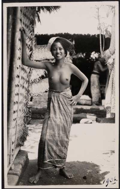 Bali girl, 1936