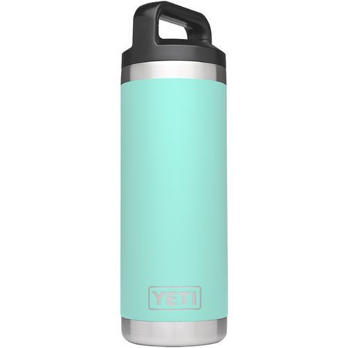 Yeti Rambler 18 oz Bottle Aqua Or Turquoise - Thermos Cups And Koozies at Academy Sports