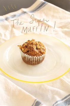 This is the only oatmeal muffin recipe you'll ever need. Warm, filling, basic, adaptable. You know, perfect...