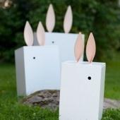 Ursöta lådor med kaninöron <3