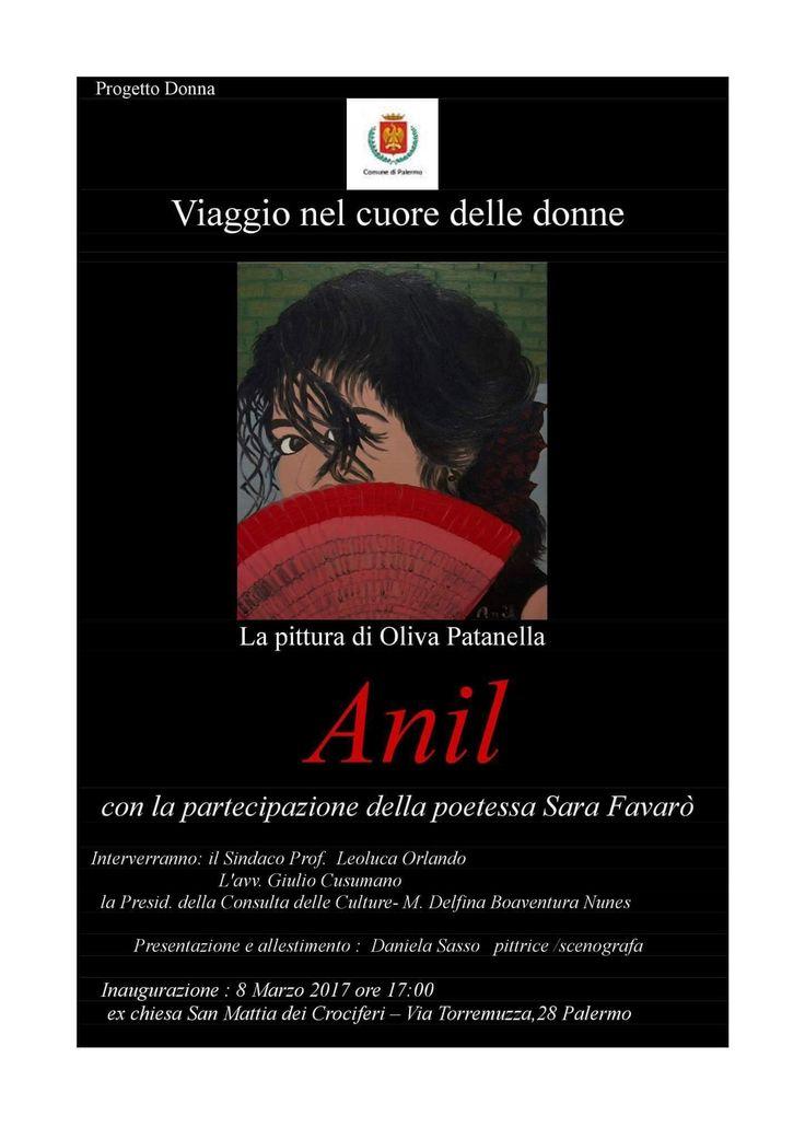 8 marzo UN VIAGGIO NEL CUORE DELLE DONNE con Anil (Oliva Patanella) e Sara Favarò