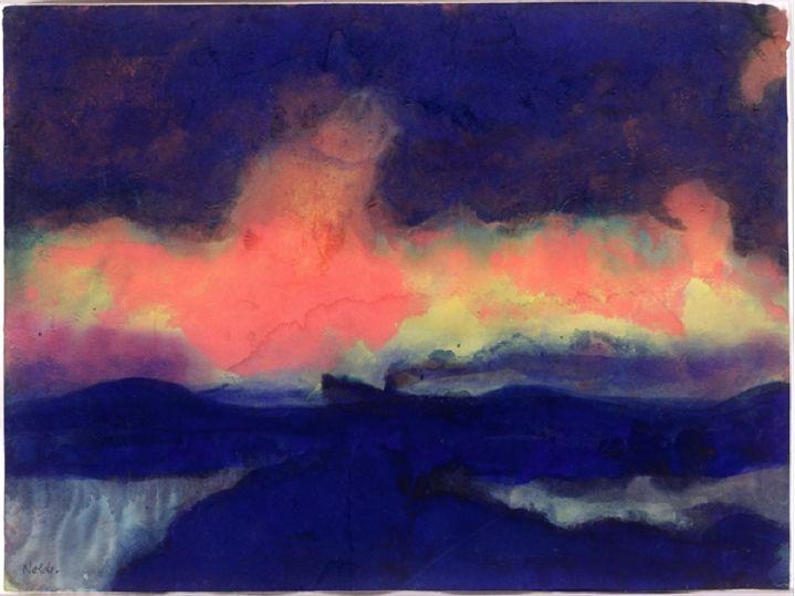 Seascape - Emil Nolde