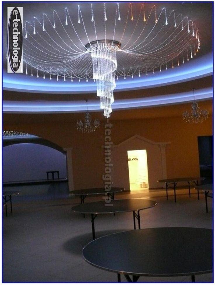 lampy led sklep - oświetlenie żyrandole - światłowody oświetlenie e-technologia