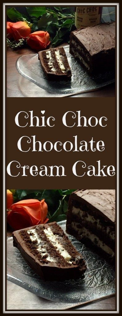 I refer to this recipe for Chic Choc Chocolate Cream Cake as the 5C cake. It's a flourless, quick & fancy dessert that's sure to please family and friends.