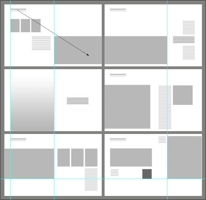 USEFUL IDEAS  -- Portfolio Layout