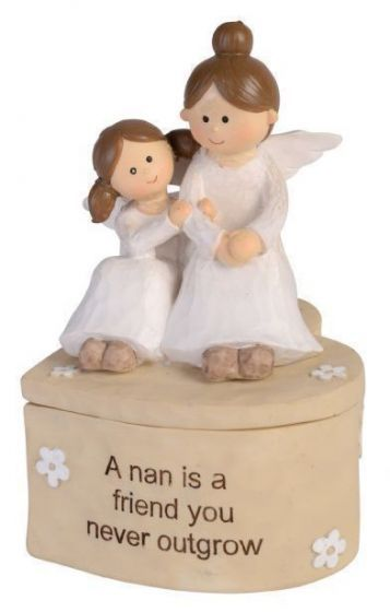 Adoring Angel Trinket Box - Nan