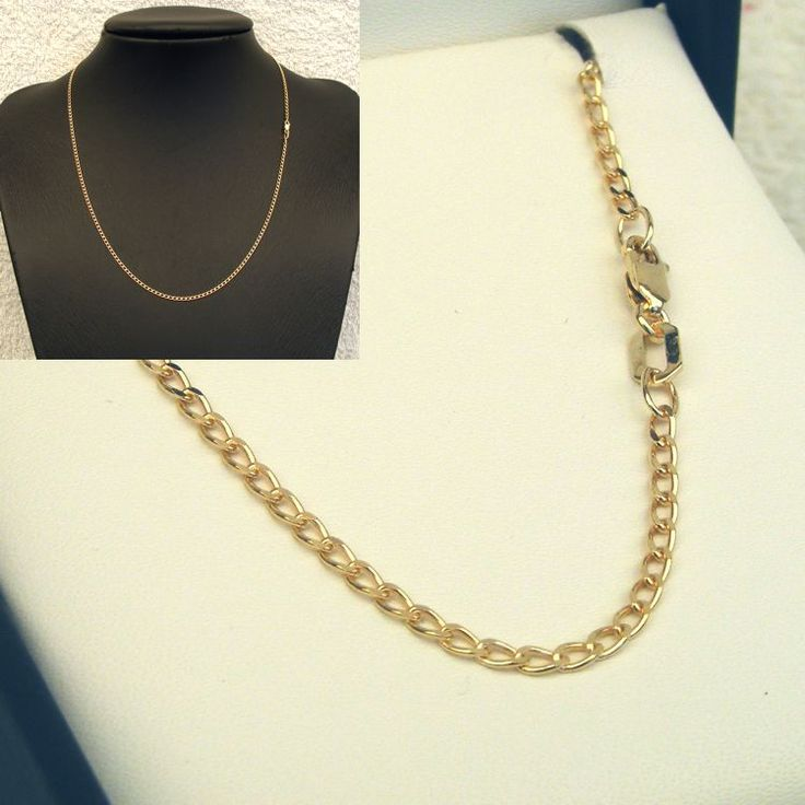 Buy 9ct Gold Long Open DC Curb Chain (MM-LDC-0002) online at Chain Me Up