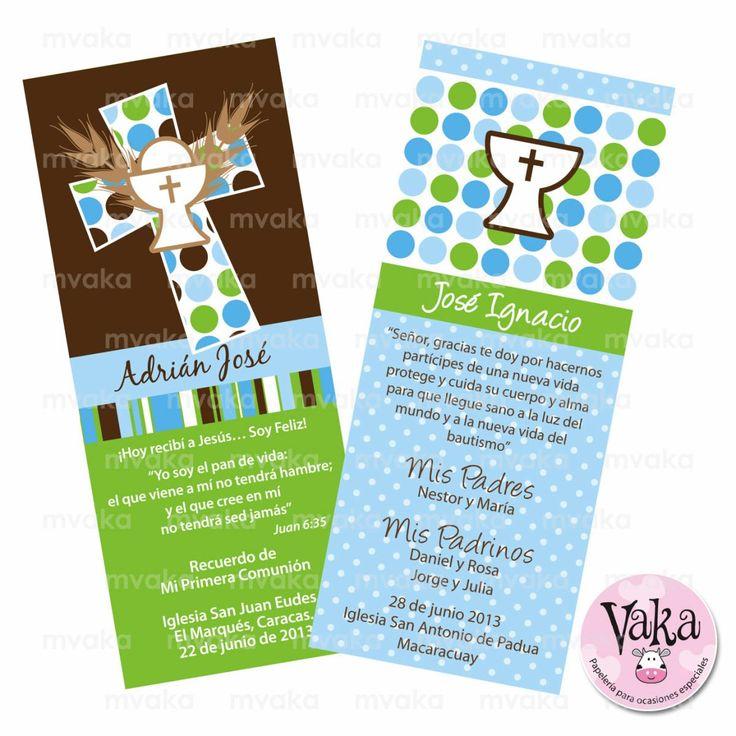 tarjetas-de-recuerdo-para-primera-comunion-bautizo-6856-MLV5120785263_092013-F.jpg (1200×1200)
