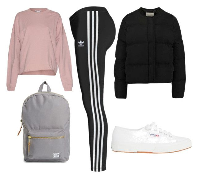 Sporty by fanny-xix on Polyvore featuring Herschel Supply Co.