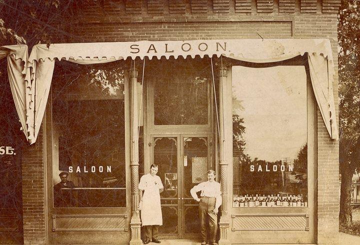 Saloon in Colorado City 1900