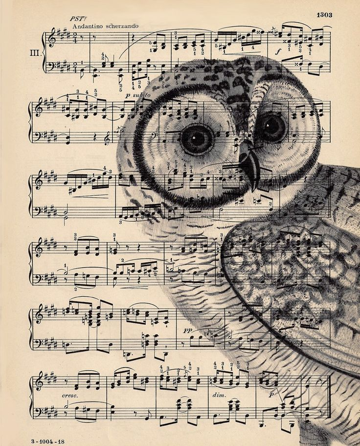 Why not just send it through the printer with your favorite black and white photo - Dishfunctional Designs: Upcycled Sheet Music Crafts