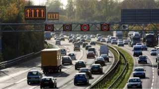 Speeding tickets on 'smart motorways' rise sharply
