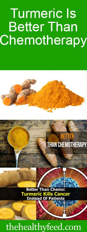 Turmeric Is Better Than Chemotherapy