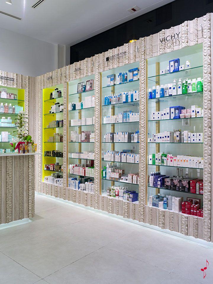 SantaCruz Pharmacy by Marketing Jazz  Santa Cruz de Tenerife store design. 25 best Pharmacy images on Pinterest   Pharmacy design  Pharmacy