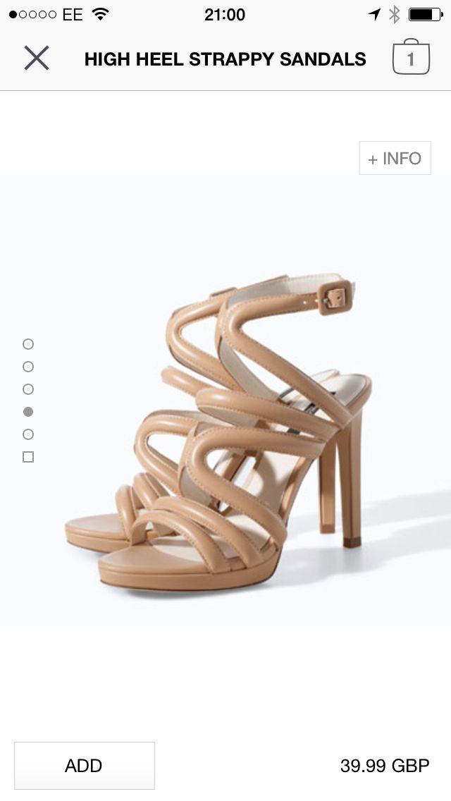Zara shoes £39.99