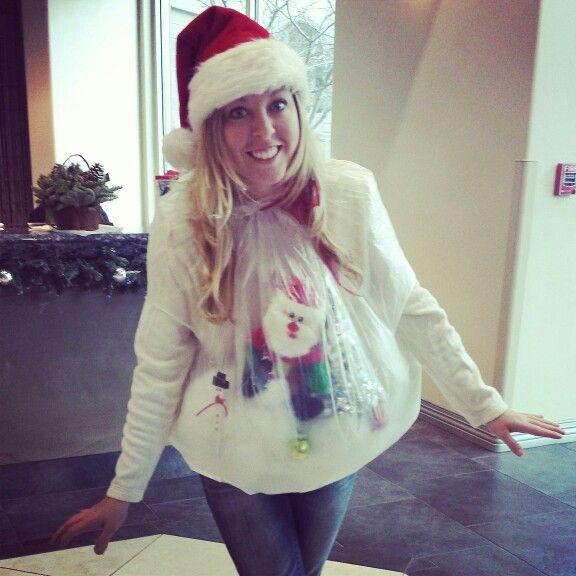 Snow Globe Christmas Sweater 89