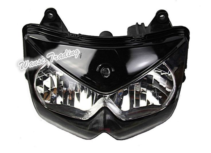 Front Headlight Headlamp Head Light Lamp Assembly Housing Case Clear Lens For 2004 2005 2006 KAWASAKI Z 750 Z750 ZR750J #Affiliate
