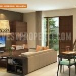 Interior Design Living Room Nusa Loka Park BSD
