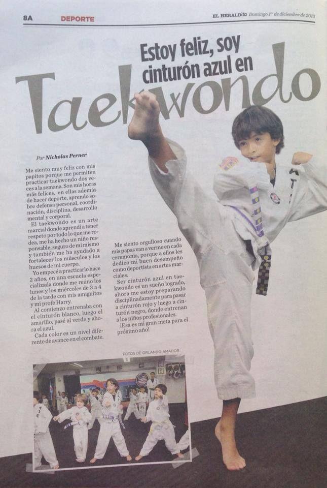 """Reportaje de """"El Heraldito"""" de nuestro alumno Nicholás Perner."""