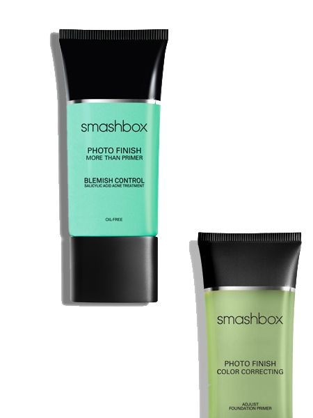 Smashbox Photo Finish More Than A Primer Blemish Control:  Die beste Wahl für ölige Haut und Mischhaut, die zu Unreinheiten neigt. Bei Rosacea empfehlen wir den grünen Bruder Photo Finish Color Correting.