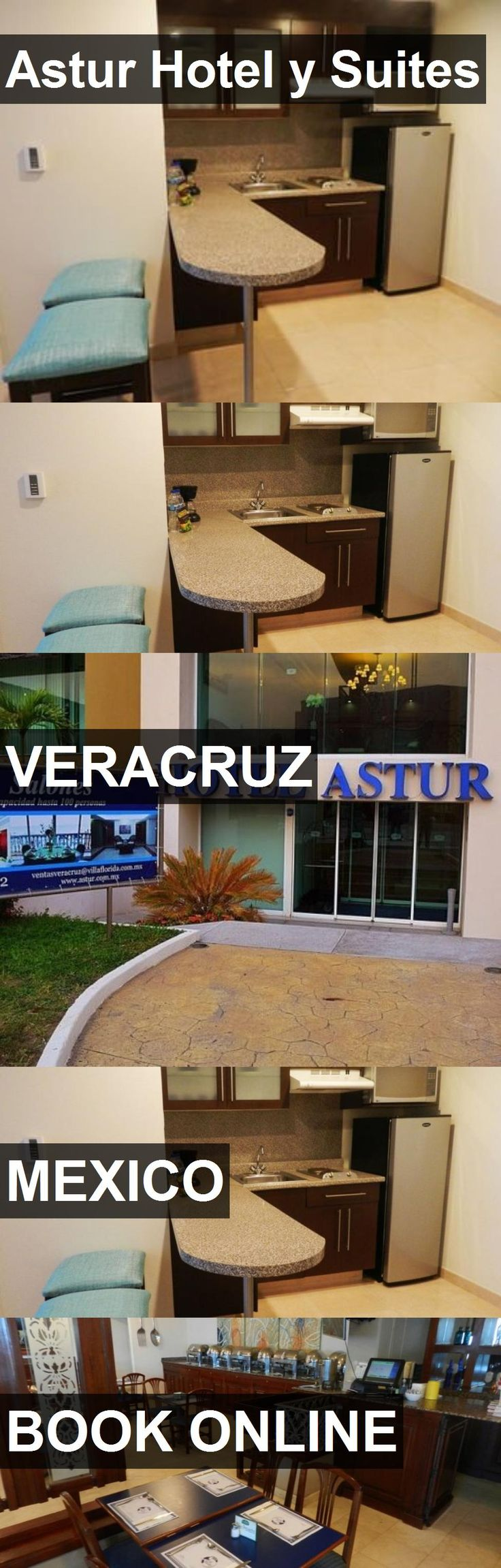 Hotel Astur Hotel y Suites in Veracruz, Mexico. For more information, photos, reviews and best prices please follow the link. #Mexico #Veracruz #AsturHotelySuites #hotel #travel #vacation