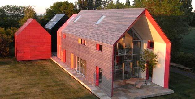 La Maison Coulissante par dRMM Architecture à Suffolk, Grande-Bretagne - Architecture