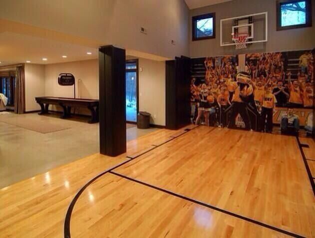 Indoor basketball court ok i know this will never happen for House with indoor basketball court