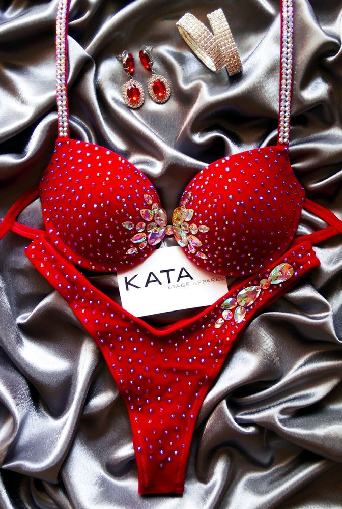 Designer Fitness Posing Bikini Suit Figure Physique NPC IFBB WBFF Competition #KATA #Bikini