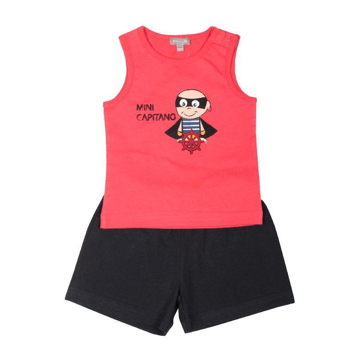Completo 2 pezzi Super Eroe  #Z #Zgeneration #kids #fashion http://it.zgeneration.com/it/