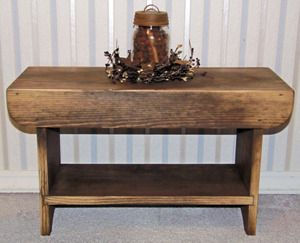 Primitive Shoe Bench! Too Cute!!: Wooden Benches, Primitive Country, Bucket Bench, Primitive Furniture, Primitive Benches, Primitive Shoe
