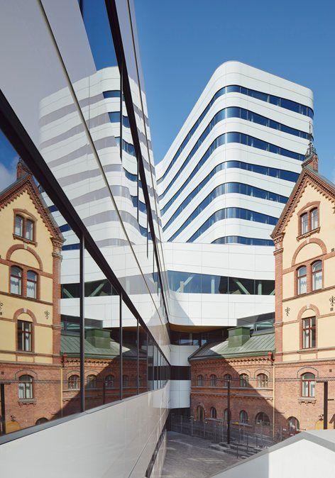 Vven cultural centre, Umeå, 2014 - Snøhetta, White Arkitekter