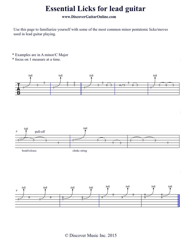 100+ Free Guitar Lessons that Will Teach You How to ...