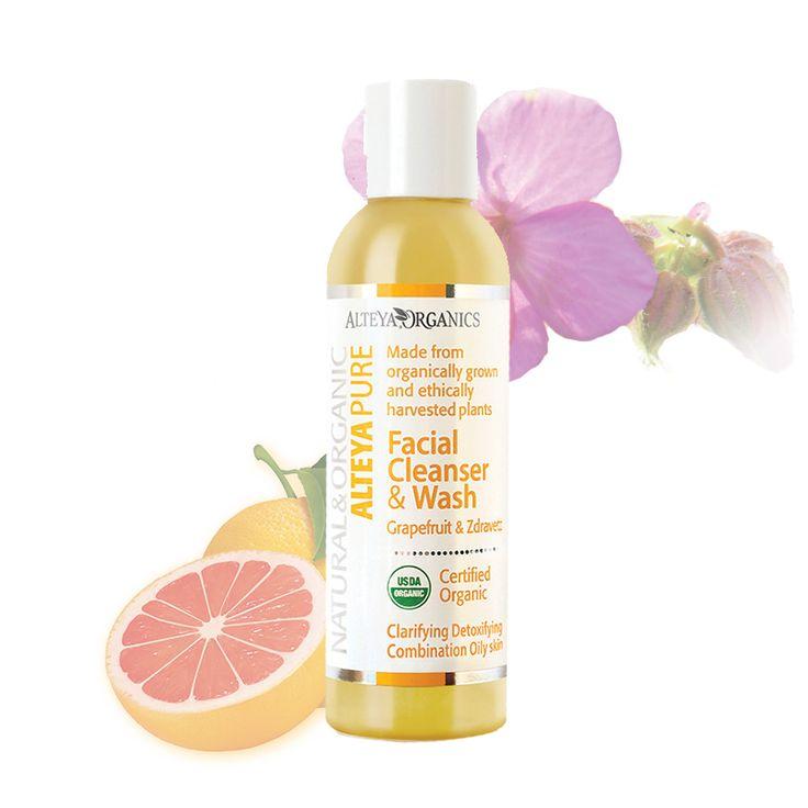 Gezichtsreiniger en wash – Grapefruit/Zdravetz  http://www.alteyaorganics.nl/winkel/gezichtsreiniger-en-wash-grapefruitzdravetz/   Zacht en Biologisch, Alteya's Grapefruit & Zdravetz gezichtsreiniger verrijkt met pure essentiële oliën om voorzichtig en effectief de huid van de dagelijkse onzuiverheden, make-up, en overtollig talg te reinigen. De huid ziet er fris, zacht en gezond uit. Verrijkt met verfrissende en ontgiftende Grapefruit en Zdravetz oliën, dit gezichtsreiniger helpt evenwicht…