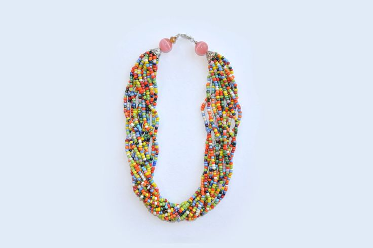 Rainbow neckpiece